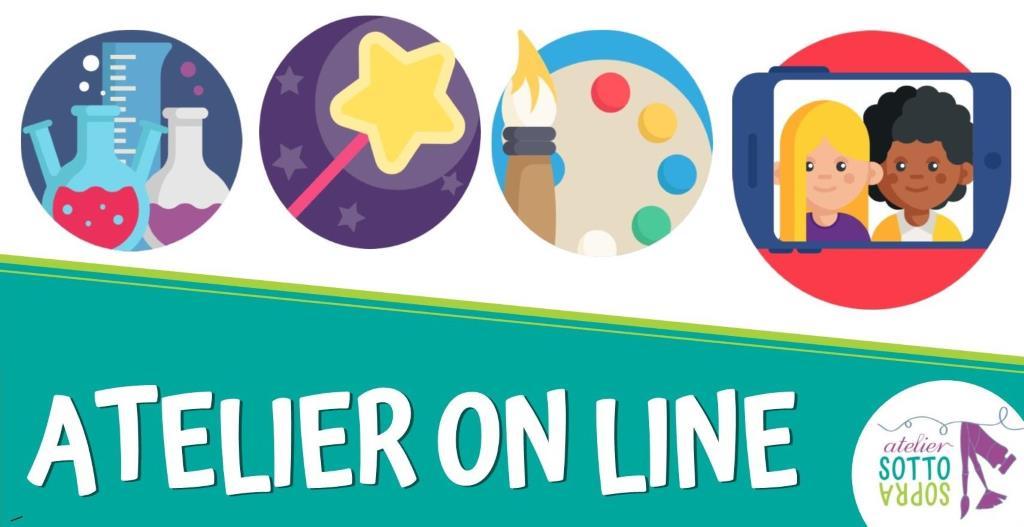 Atelier OnLine: giochi e laboratori a casa tua!