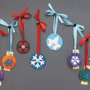 Creazioni in pasta Fimo: chiudi pacco per Natale