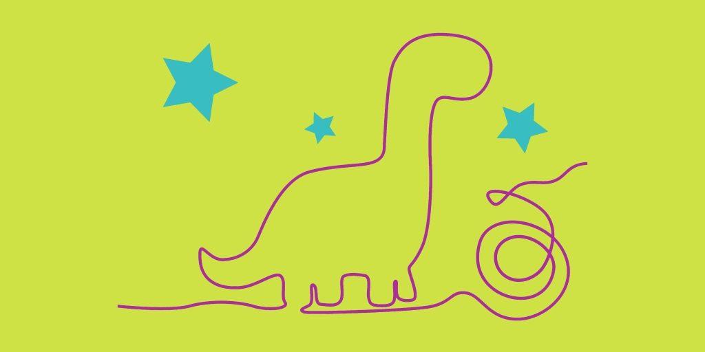 Festa di compleanno a tema dinosaurii