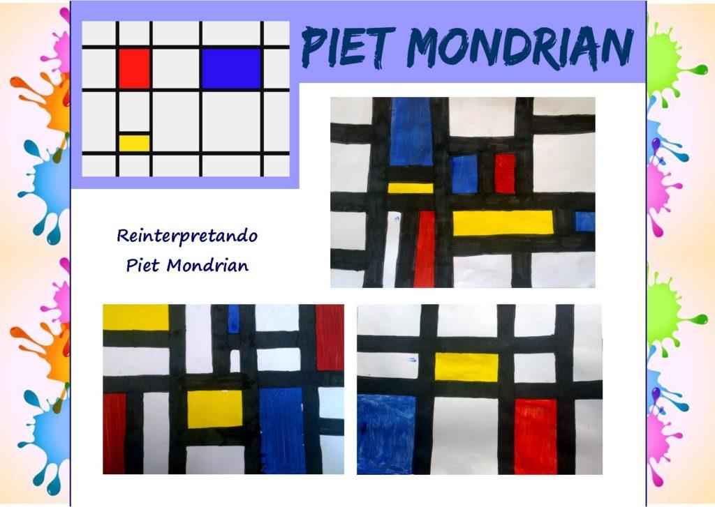 Come i grandi artisti: reinterpretando Piet Mondrian