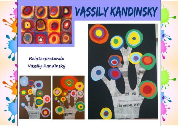 Come i grandi artisti: reinterpretando Vassily Kandinsky