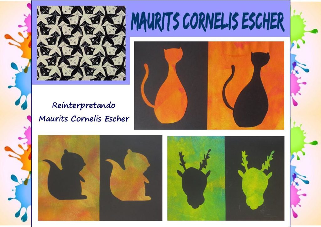 Come i grandi artisti: reinterpretando Maurits Cornelis Escher