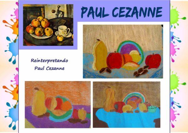Come i grandi artisti: reinterpretando Paul Cezanne