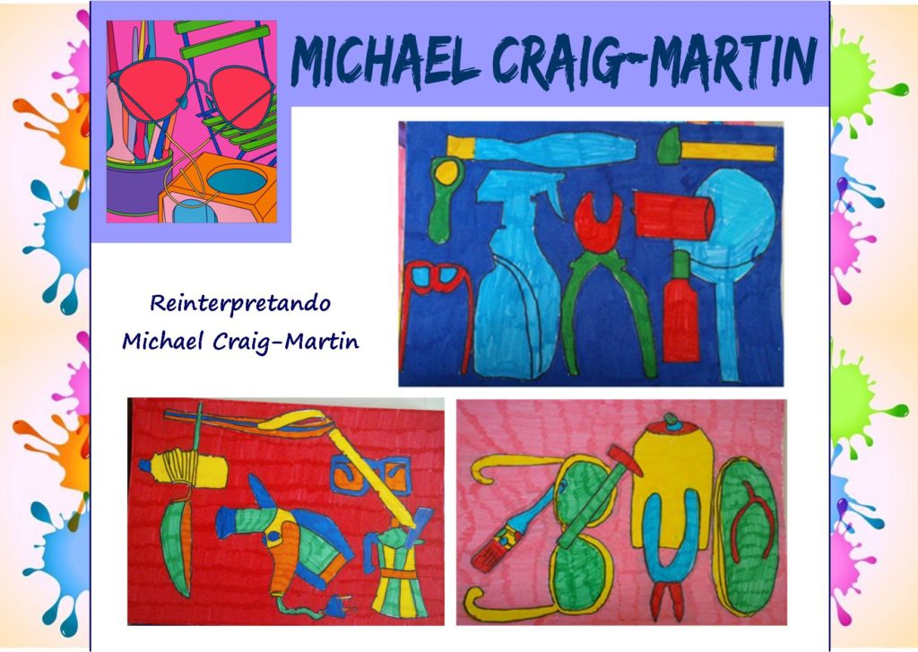 Come i grandi artisti: reinterpretando Michael Craig-Martin