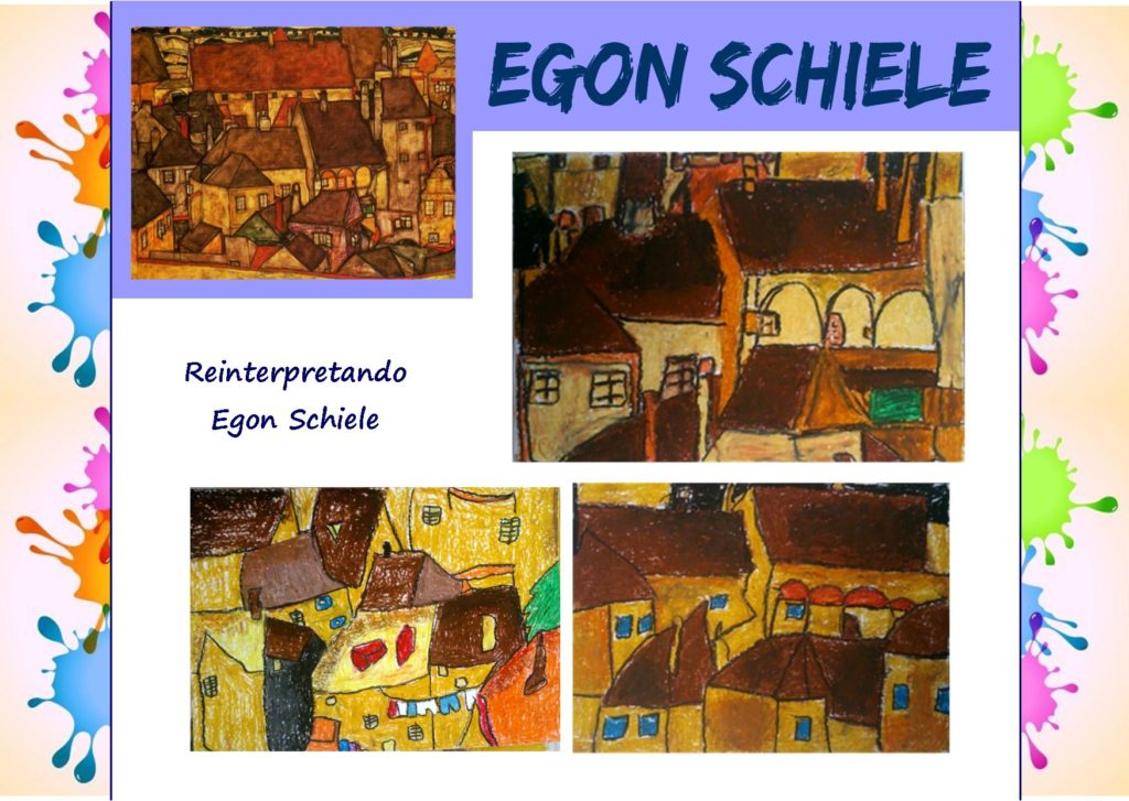 Come i grandi artisti: reinterpretando Egon Schiele