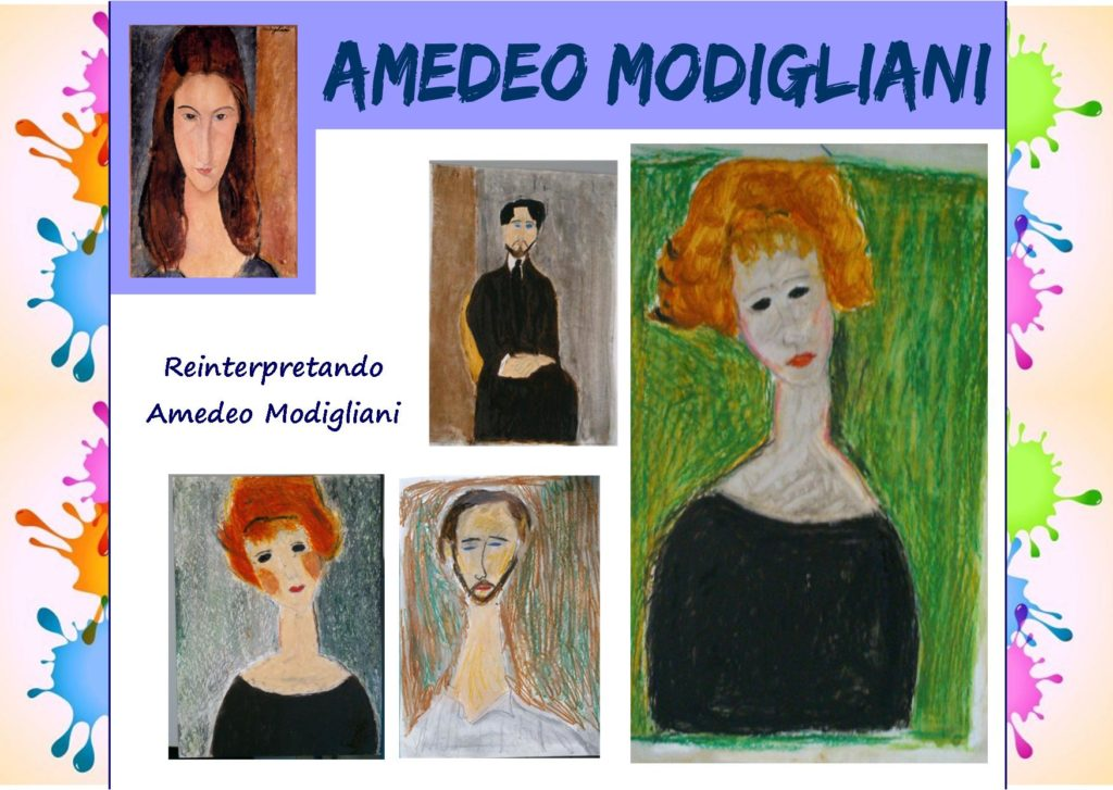 Come i grandi artisti: reinterpretando Amedeo Modigliani