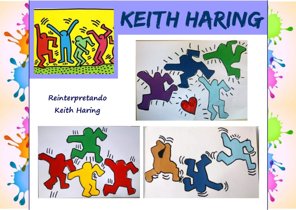 Come i grandi artisti: reinterpretando Keith Haring