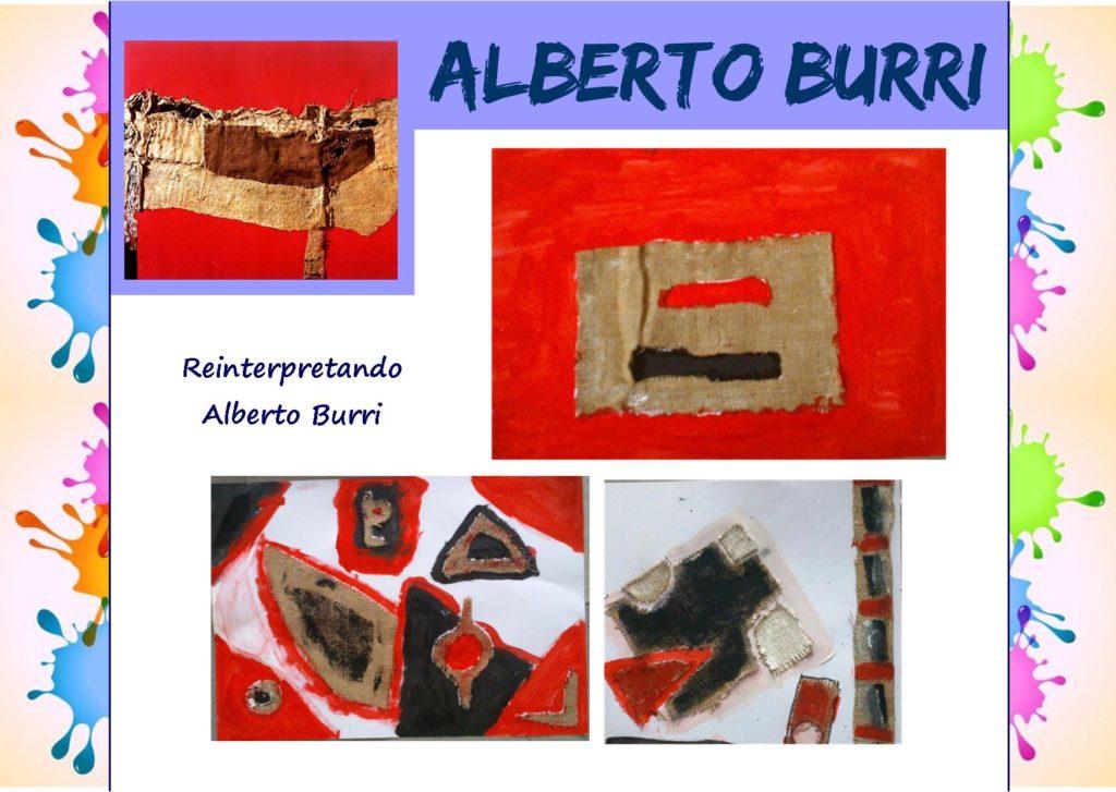 Come i grandi artisti: reinterpretando Alberto Burri