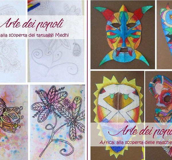 Laboratori creativi esperienziali: arte dei popoli India, arte dei popoli Africa