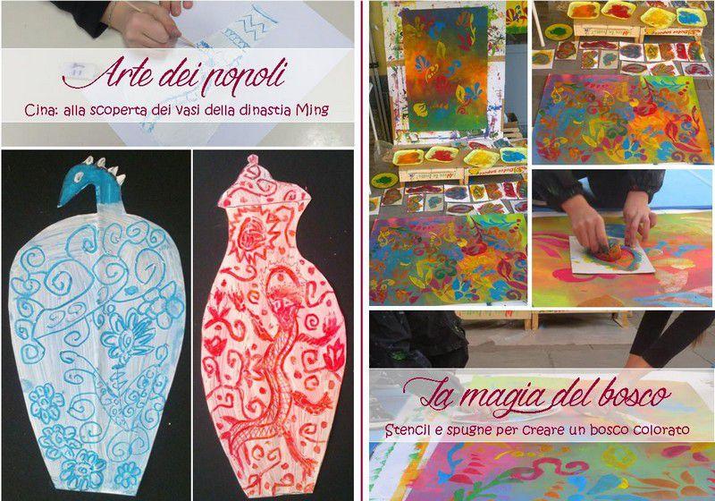 Laboratori creativi esperienziali: arte dei popoli, la magia del bosco
