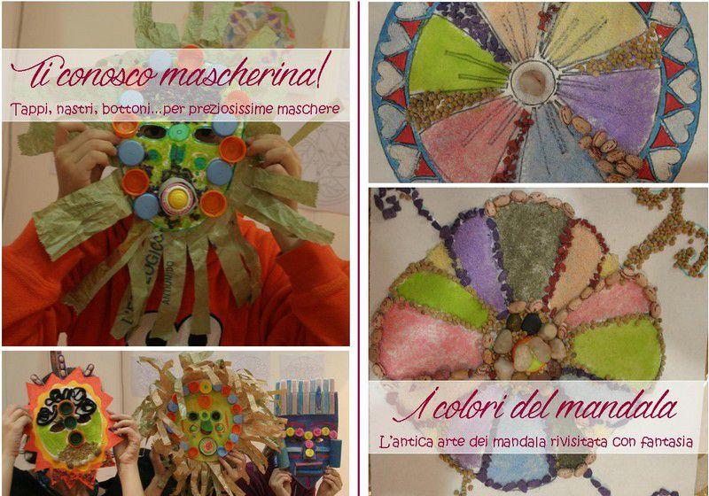 Laboratori creativi esperienziali: ti conosco mascherina, i colori del mandala