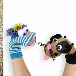 Costruire marionette con le calze