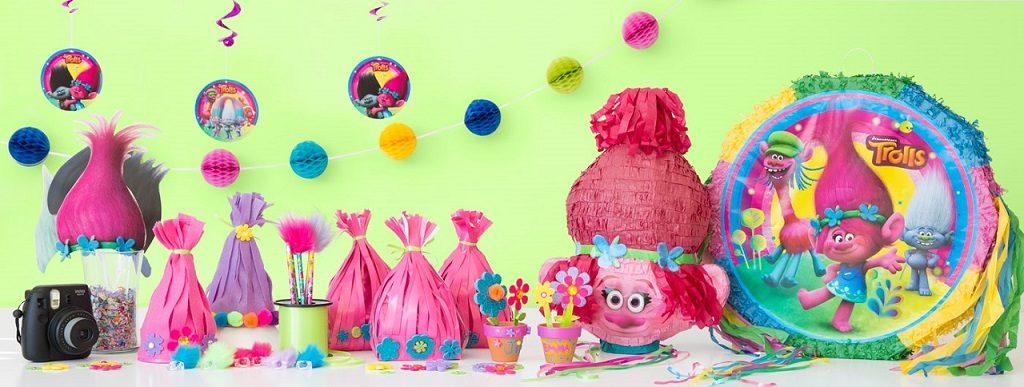 Come organizzare una festa a tema Trolls idee