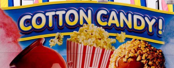 Pop-corn e zucchero filato